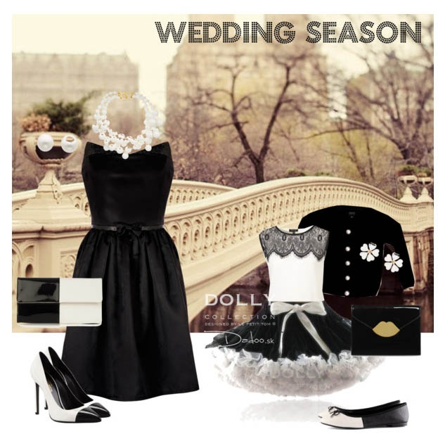 wedding season inspirations with DOLLY skirt Black beauty
