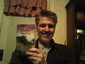 Max Ridgway di Oklahoma bersama bukuku DdR