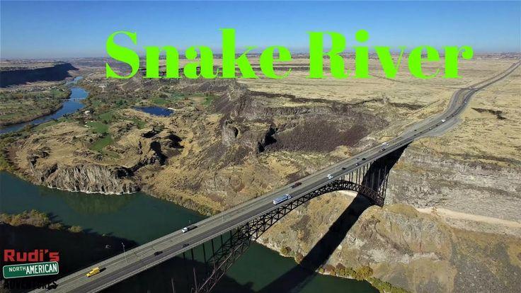 Snake River in Twin Falls Idaho Rudi's NORTH AMERICAN ADVENTURES 10/25/17 Vlog#1232 - YouTube