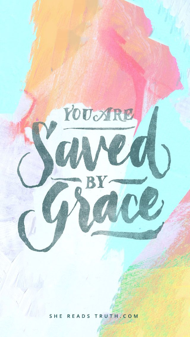 But God, who is rich in mercy, because of His great love that He had for us has made us alive with the Messiah even though we were dead in trespasses. You are saved by grace! {Ephesians 2:4-5}