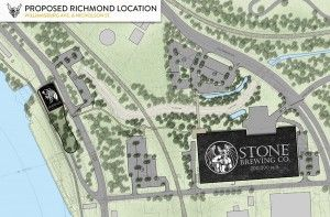 Stone Brewing To Open $74M Facility in Richmond, Create 288 Jobs