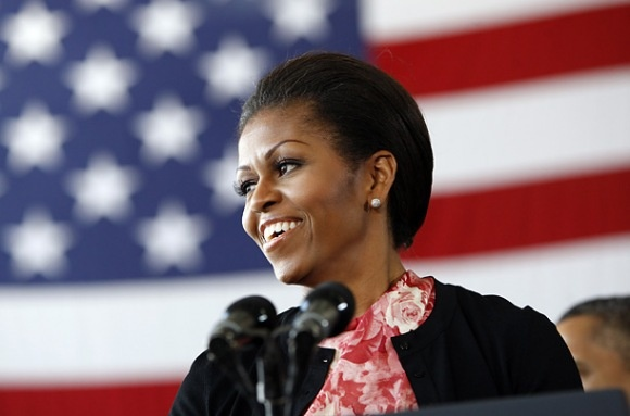 """The First Lady has been hard at work drumming up support for her """"Let's Move"""" exercise initiative, as well as her husband's re-election campaign. TIME's photo editors bring you her best moments from the trail. http://ti.me/JVU1F0: Africans American And Black, Time Photos, Michelle Obama, Beautiful, Exercise Initials, Michele Obama, Patriots, Photos Editor, And Black Celebrity"""
