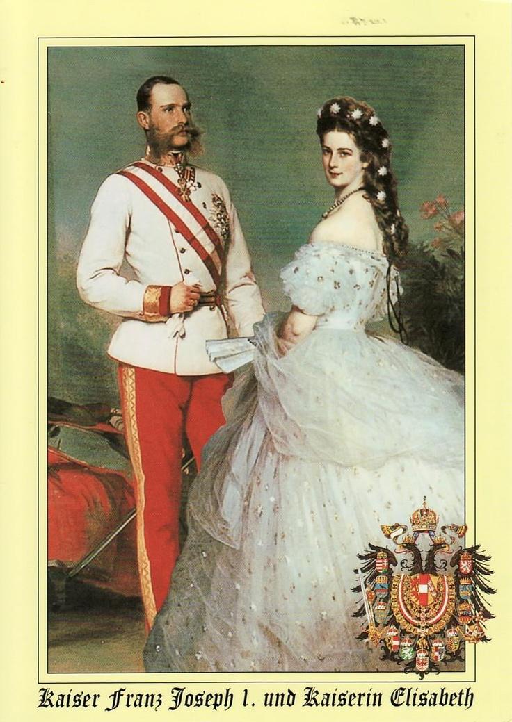 ULVIKARU POSTCARDS: AUSTRIA - Kaiserin Elisabeth (1837-1898), Kaiser Franz Joseph I ( 1830-1916)
