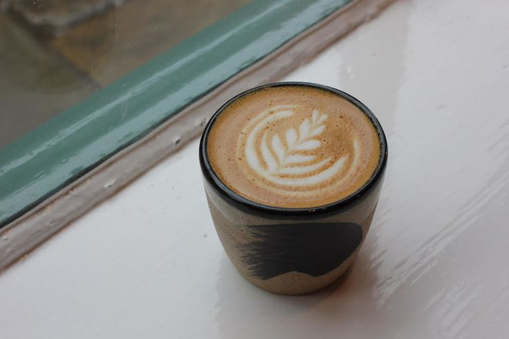 Coffee cup by Pottery West for Kiosk Project Space