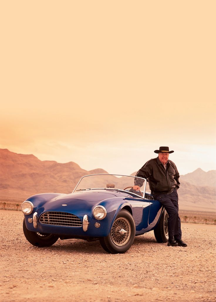 Shelby Cobra CSX2000 with the legend himself, Carroll Shelby