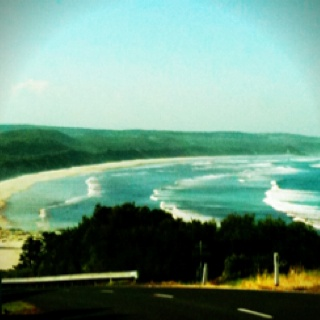 Stumbled across this and I'm certain it's Cape Bridgewater about 20mins out the road from my hometown Portland (Vic). Countless fond memories.