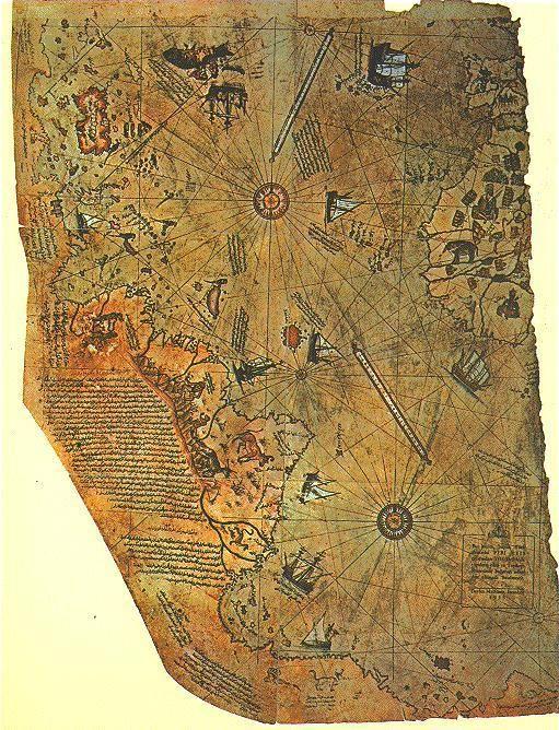 O Mapa de Piri Reis!                                                                                                                                                                                 Mais