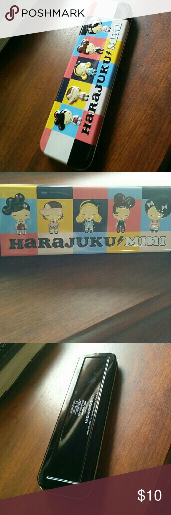 Harajuku ⚡Mini case. Rare and adorable pencil/make-up brush case and multi col…