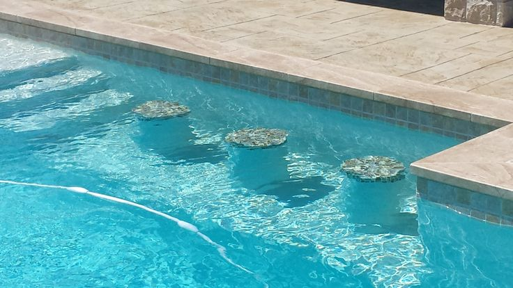 Swimming Pool Bar Stools With Glass Tile Sutton