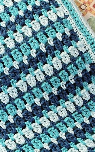 [Free Pattern] Gorgeous Afghan With A Simple And Repetitive Stitch Pattern
