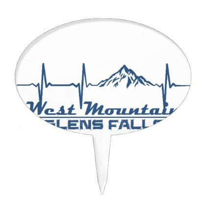 West Mountain  -  Glens Falls - New York Cake Topper - fall decor diy customize special cyo