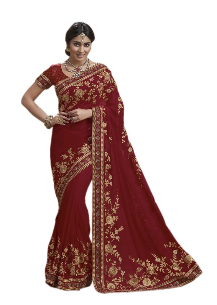 Buy Now Red Embroidery Georgette Designer Saree with Blouse only at Lalgulal.com  Price :- 5,192/- inr. To Order :- http://bit.ly/1VK1uJX COD & Free Shipping Available only in India #sarees #weddingsaree #saris #weddingwear #bridalwear #halfandhalf #allthingsbridal #zukreat #bridalsuits #ethnicfashion #celebrity #shopping #fashion #bollywood #india #indiafashion #bollywooddesigns #onlineshopping #bollywoodsuits #partywear #collection #wedding #designer #womenswear #indiandesigner