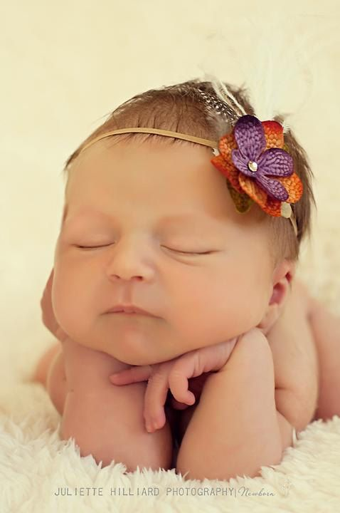 Maybe the most adorable baby headband ever?