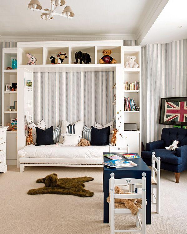 4 a 8 a os dormitorios infantiles micasa revista de for Revistas decoracion dormitorios