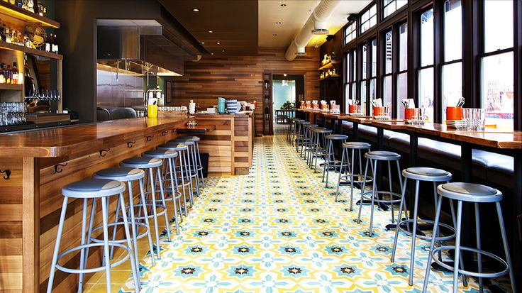 307 best images about cement tile ideas on pinterest for Commercial bar flooring