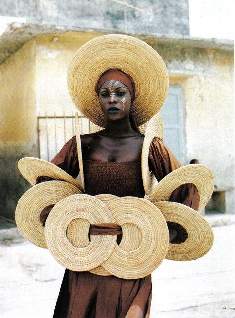 Senegal sunhat