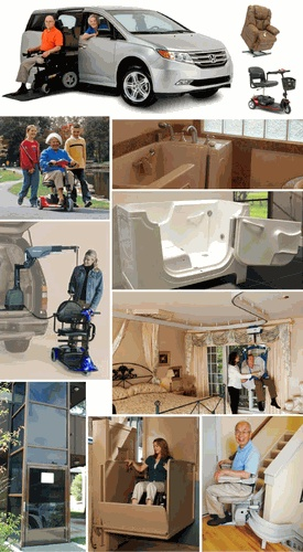 ALL IN ONE MOBILITY - Portland, Oregon, wheelchair vans, accessible roll-in shower, handicap, wheelchair lift, walk in bath, ramps, wheelchairs, ada shower, stair chair.