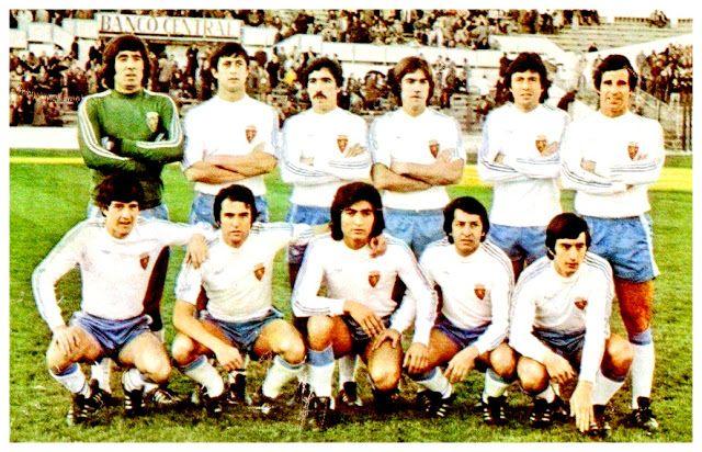 REAL ZARAGOZA contra Granada 01/01/1978