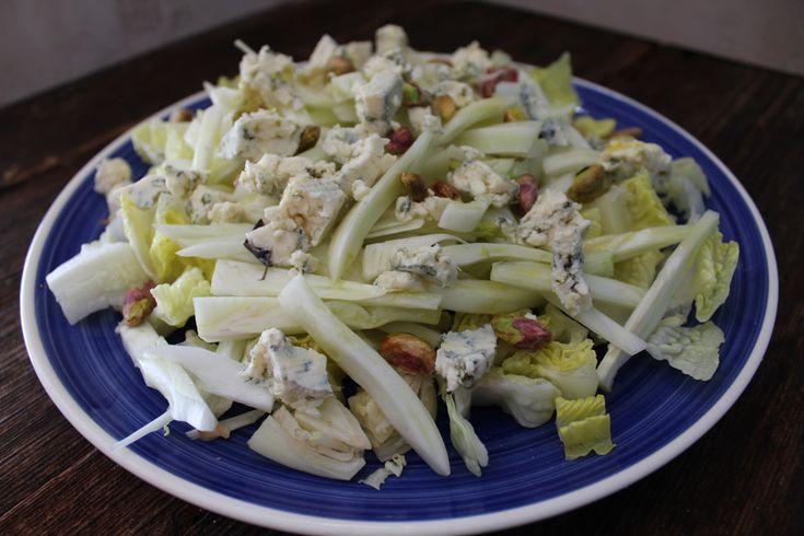 Mi caja de recetas: Ensalada de hinojo, queso azul y pistachos