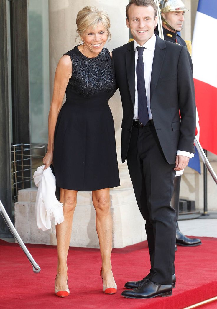 "Brigitte Trogneux (24 years older than her husband) et Emmanuel Macron. ""En Marche"" leader in France. Next youngest president? France 2017 elections"