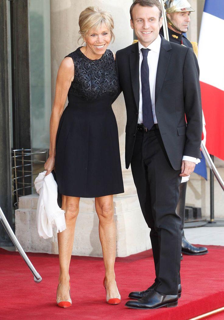 """Brigitte Trogneux et Emmanuel Macron """"Monsieur et Madame""""ils ne résisteront pas....broyés par leur emploi."""