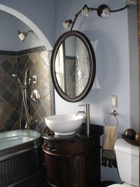 Ambers Unique Bathroom Stock Tank Bathtub And Vessel