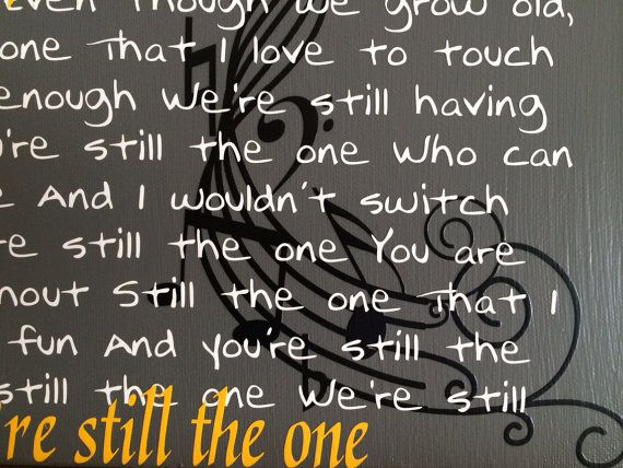 You Re Still The One Orleans Song Lyrics By