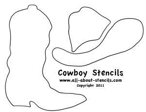 coboy hat quilt pattern | Cowboy Stencils, Southwestern Stencils, Country Stencils All Free ...