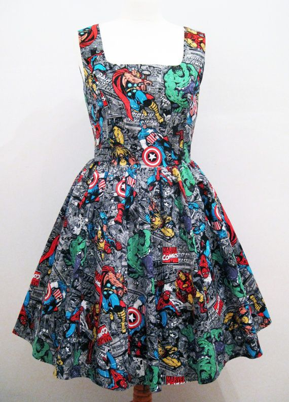 Or opt for a classic summer dress. | 18 Stylish Ways To Showcase Your Inner Geek This Summer