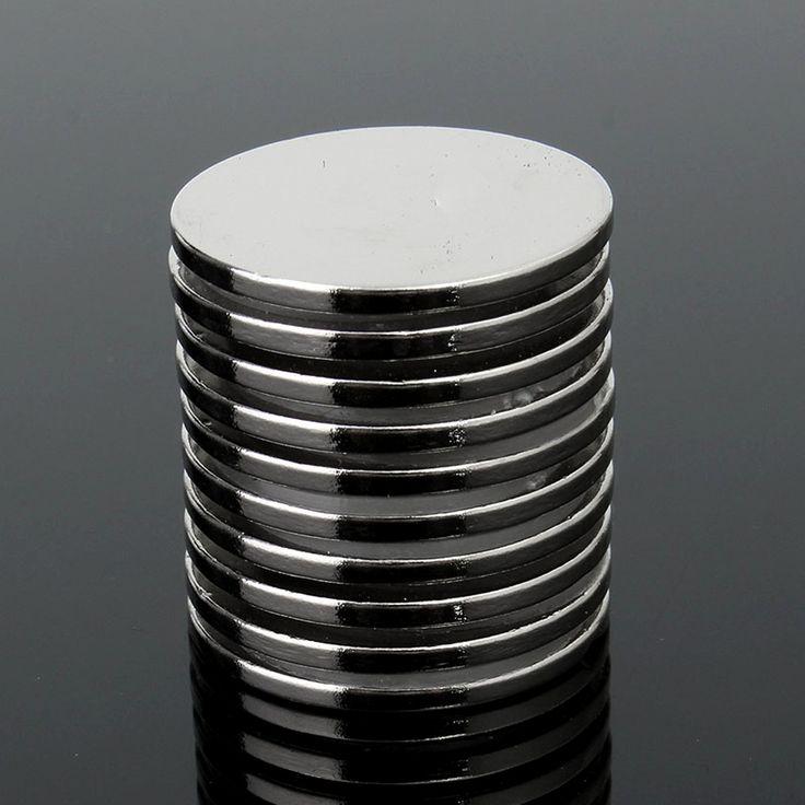 10 STÜCKE 25mm x 2mm N35 Starke Runde Rare Earth Neodym Magneten magnetkreismagnet permanentmagnet