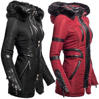 Winterjacken damen gunstig ebay