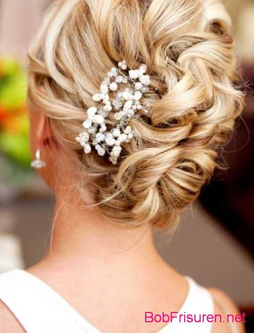 Kinnlange Haare Hochzeit Stilvolle Frisuren Beliebt In Deutschland
