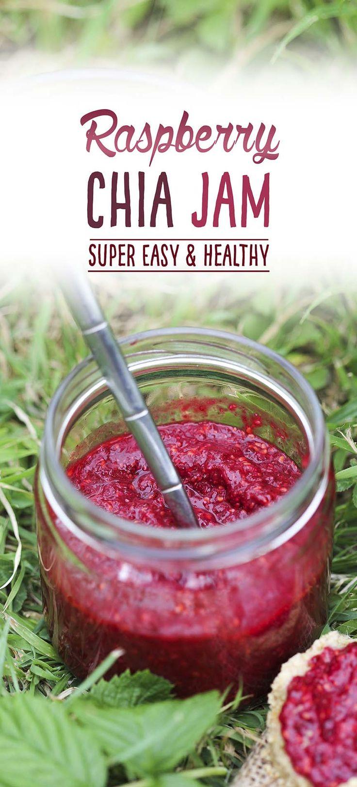 chia recipes, healthy recipes, vegan recipes, chia jam