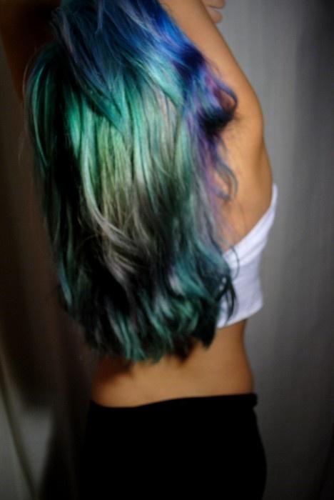 blue / green / purple ...