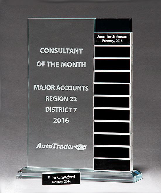 jade glass perpetual plaque | Distinction Perpetual Glass Award | Trophies | Corporate ...
