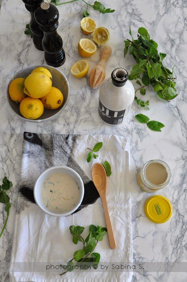 Due bionde in cucina: Vinaigrette alla libanese