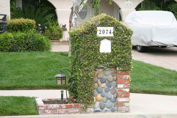 Find the Right Brick Mailbox Designs: Brick Mailbox Designs With Light ...