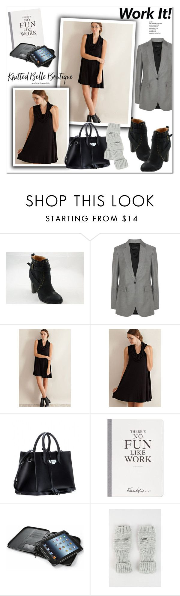 """Work in Style!"" by knittedbelleboutique ❤ liked on Polyvore featuring Joseph, Balenciaga, Selfridges, Folio, WorkWear, CasualChic and knittedbelleboutique"