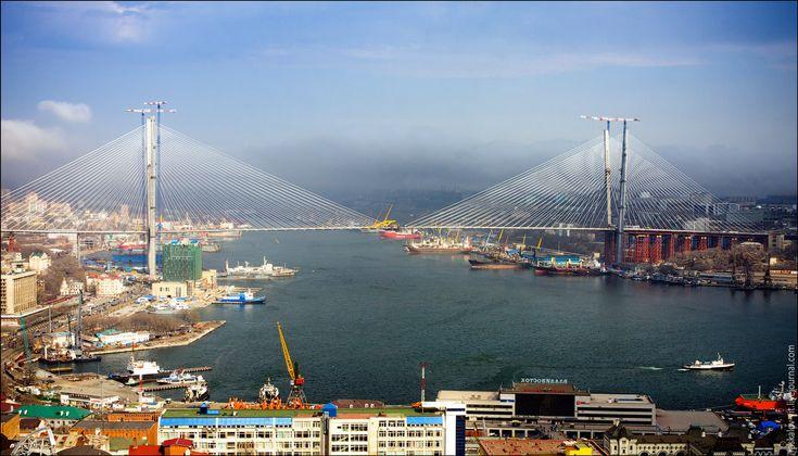 Golden Horn Bay, Vladivostok Russia