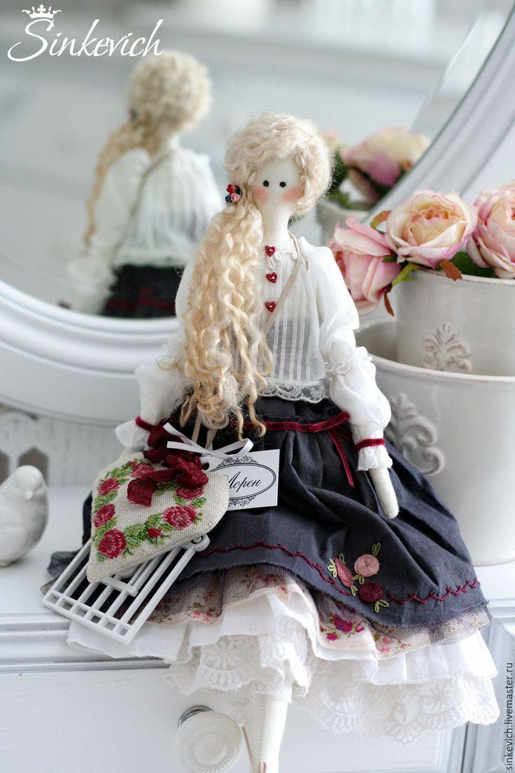 Купить Лорен - тильда, кукла текстильная, кукла интерьерная, кукла ручной работы, для уюта, для интерьера