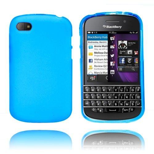 Frosted (Blå) Blackberry Q10 Deksel