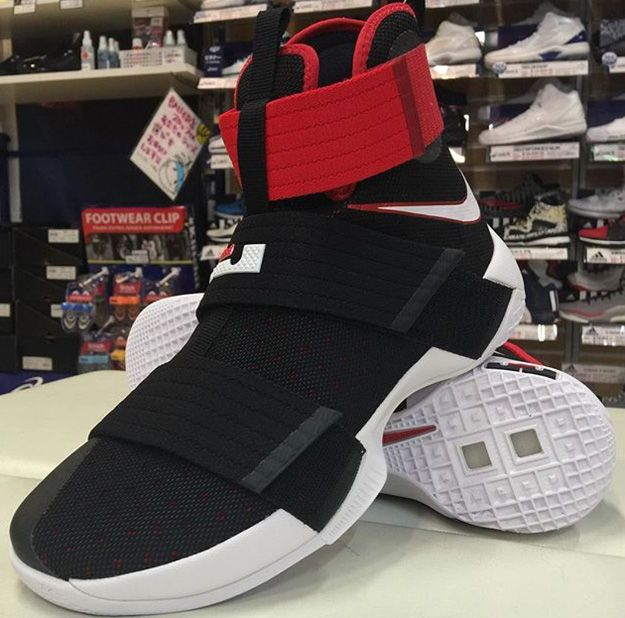 Another Look At The Upcoming Nike LeBron Zoom Soldier 10