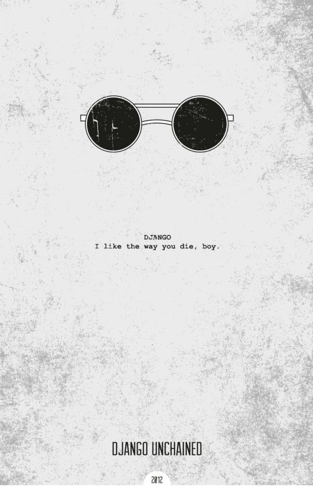 Minimalist movie posters with quotes - 05