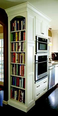 C.B.I.D. HOME DECOR and DESIGN: A KITCHEN WITH DETAILS  This on the end of your refrigerator