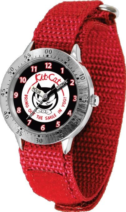 Kit-Cat Watch!!!  wish it had a black band!Bout Blondes, Sweets Thread, Kits Cat Watches, Cat Obsession, Things Feline, Glasses Ey Pets, Crazy Cat, Cat Stuff, Black Band