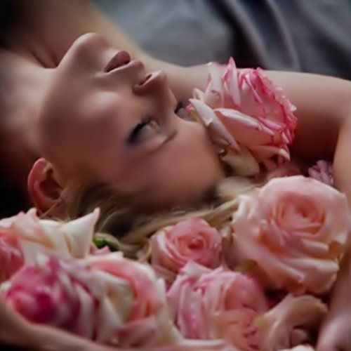 Relax with the smell of roses!