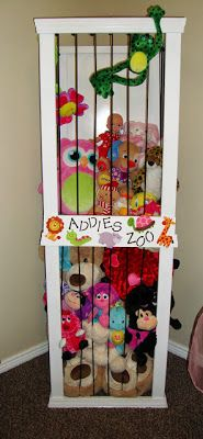 Welcome to the Zoo! Great home organization ideas!! Love this idea