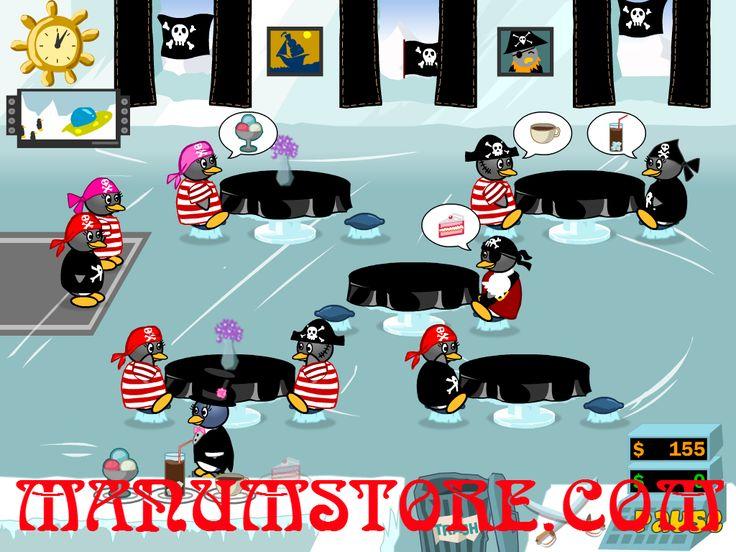 Chơi trò chơi miễn phí Penguin Diner 2