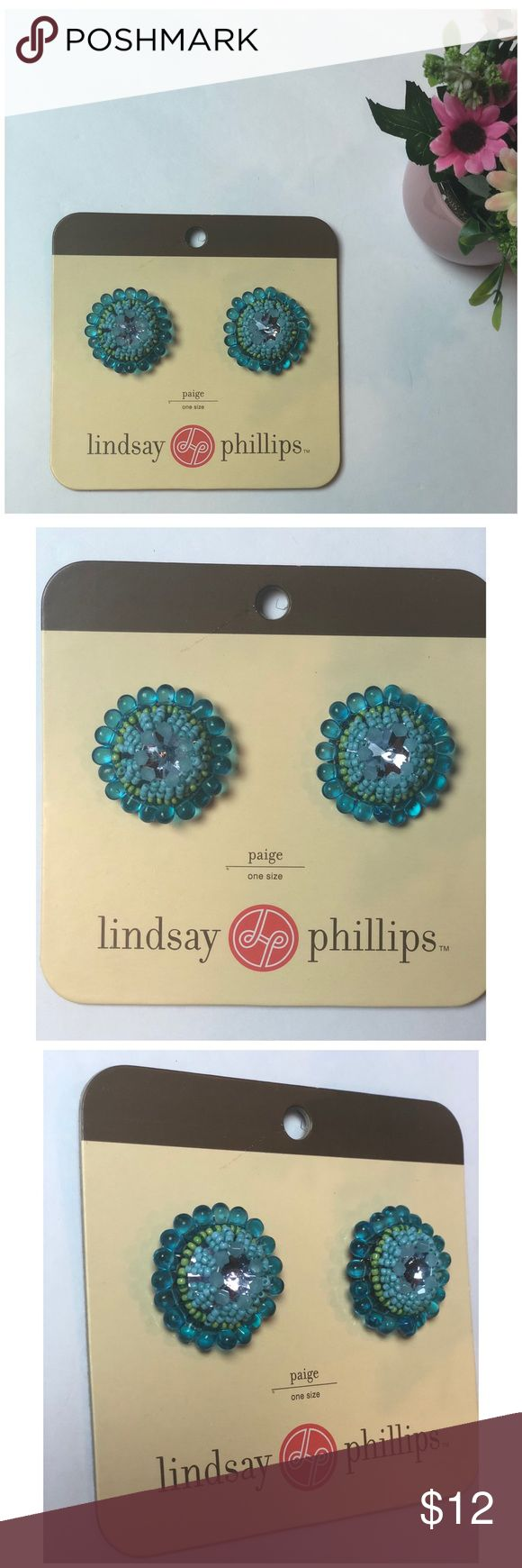 Lindsay Phillips Snap Buttons Turquoise Flower Lindsay Phillips Snap buttons. Beautiful Turquoise color. Matches any Lindsay Phillip snap shoes including flats and flip flops. Never used. Brand new packaging. Bundle with other snap kits in my closet to save!!!  Paige Lindsay Phillips Shoes