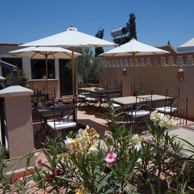 Dining area at Riad le Clos des Arts